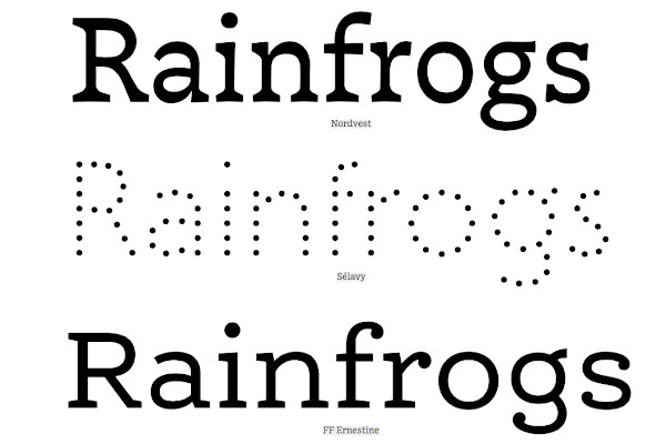 Typefaces That Work