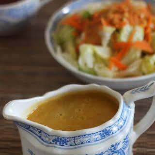 Japanese Hibachi Style Ginger Salad Dressing.