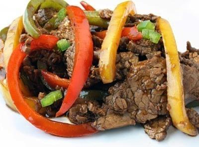Three Pepper Steak Recipe