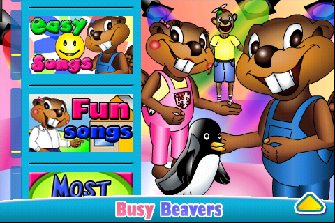 Busy Beavers Jukebox- screenshot