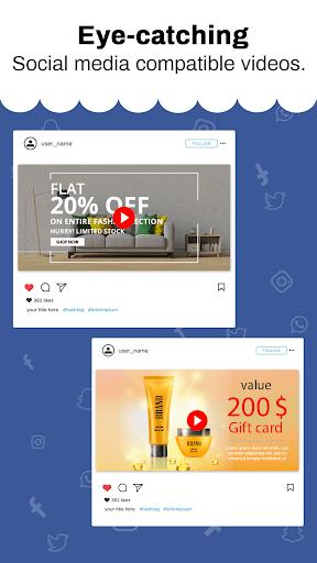 Marketing Video, Promo Video & Slideshow Maker 28.0 screenshots 6
