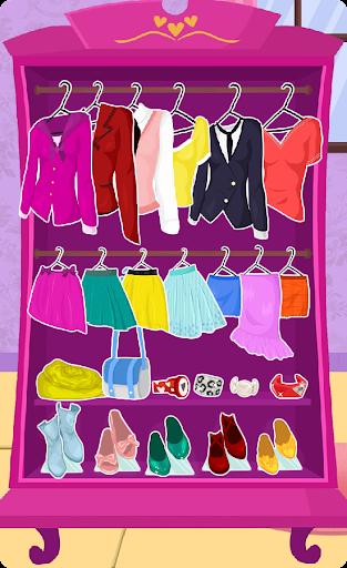 Princess High School Dress up apktram screenshots 13