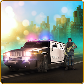 Police Car Driver Sniper Chase City Missions