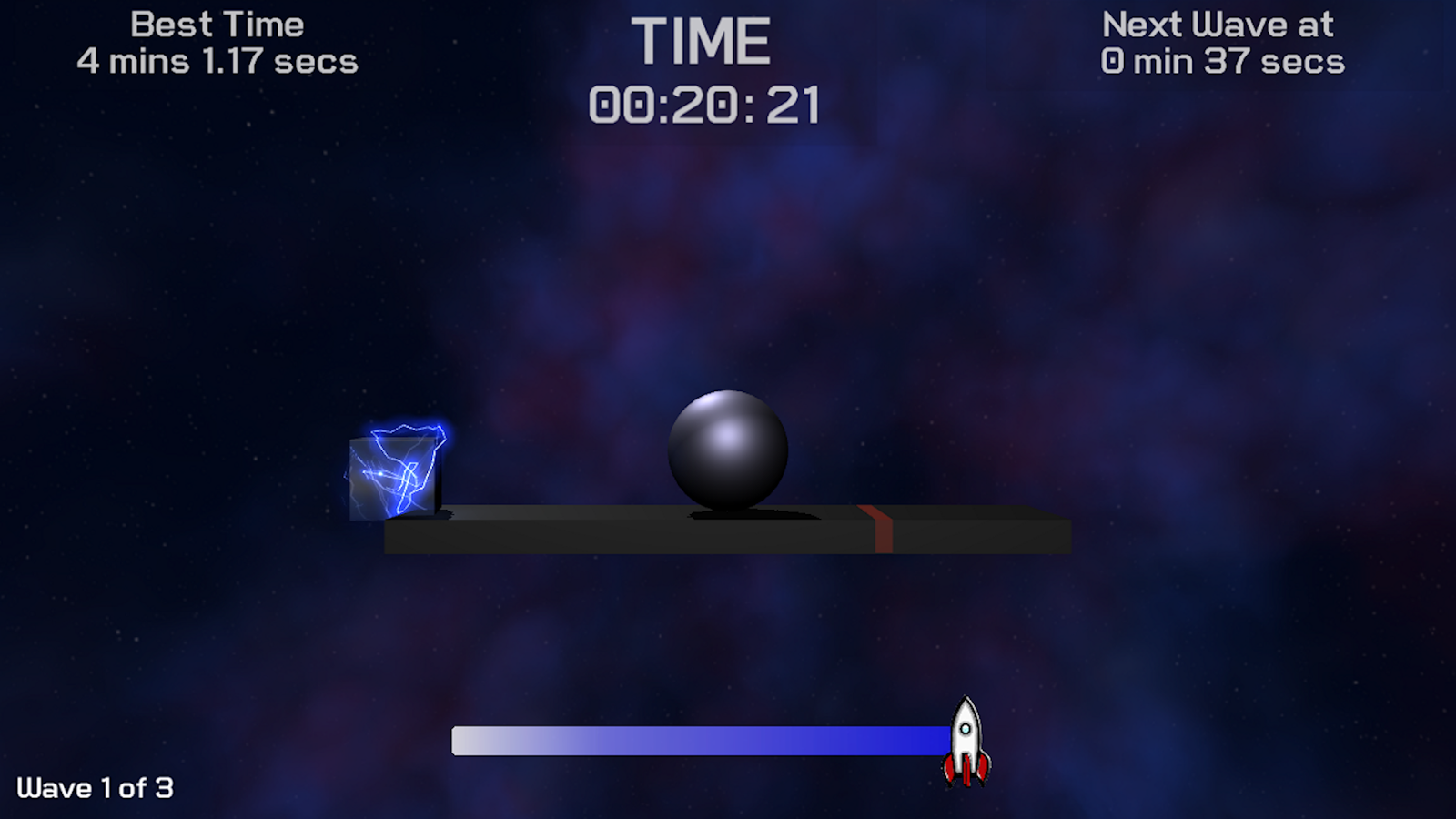 Balance the Ball- screenshot