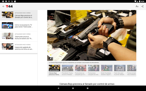 Telemundo 44 screenshot 5