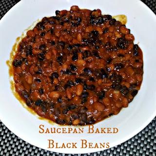 Saucepan Baked Black Beans