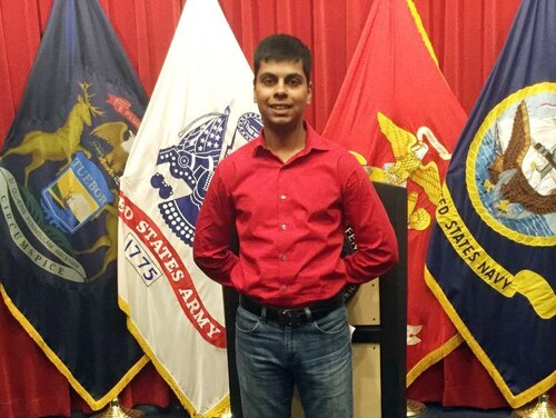 Siddiqui, 20, died during boot camp in March 2016. (Family photo via DFP)