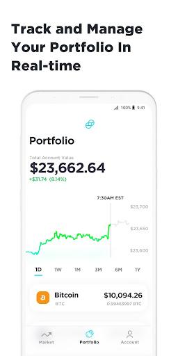 Gemini: Buy Bitcoin Instantly screenshot 5