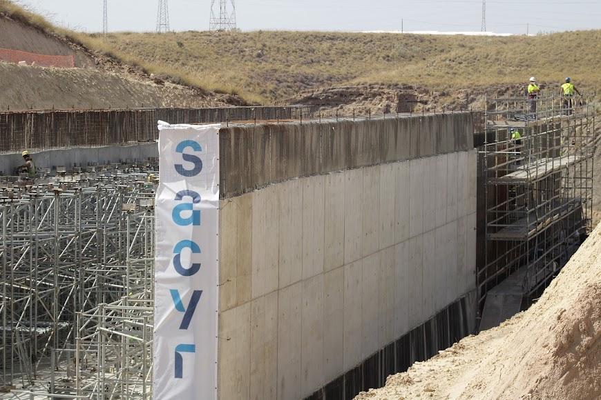 Las obras en Los Arejos-Níjar.