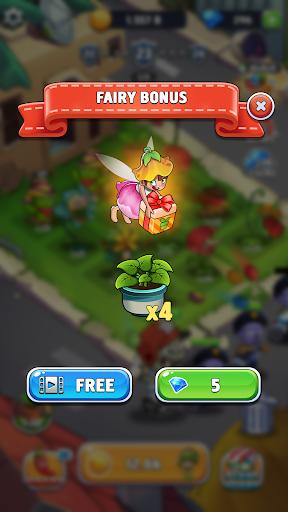 Merge Plants: Zombie Defense apkpoly screenshots 5