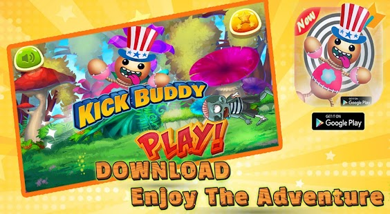 kick super buddy - kick the budy adventure world - náhled