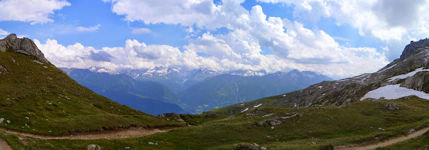 Photo: On the way up to Eggishorn