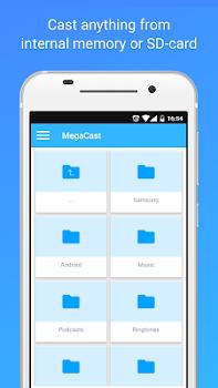 MegaCast - Chromecast player