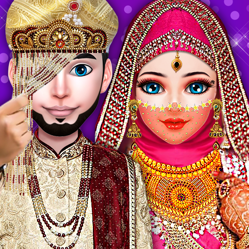 Arabian Lady Hijab Girl Wedding and Fashion Salon