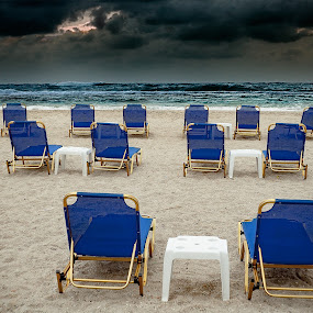Before the storm by Zoran Mrđanov - Landscapes Beaches ( clouds, waterscape, beach,  )