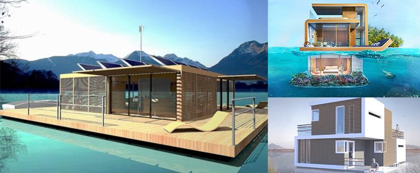 immobilier des maisons flottantes en france. Black Bedroom Furniture Sets. Home Design Ideas