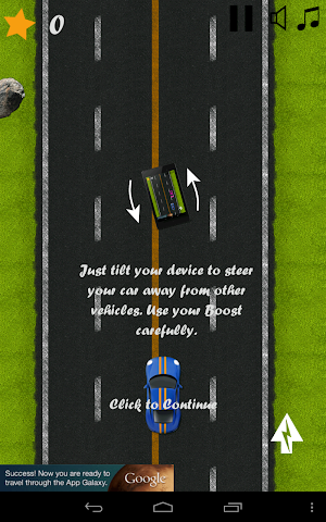 android Classic Highway Car Avoidance Screenshot 1