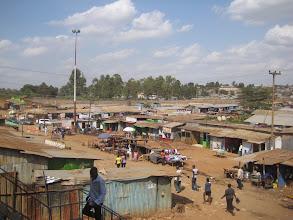 Photo: Nairobi's Kawangware slum - area 56 - near proposed Gatina-Pesa location