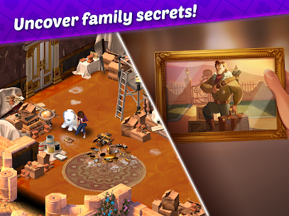 Ava's Manor – A Solitaire Story Mod Apk (Unlimited Lives + Money) 8