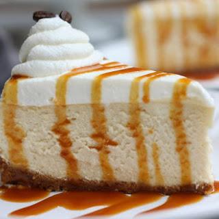 Caramel Macchiato Cheesecake.