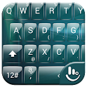Keyboard Theme Glass AquaGreen