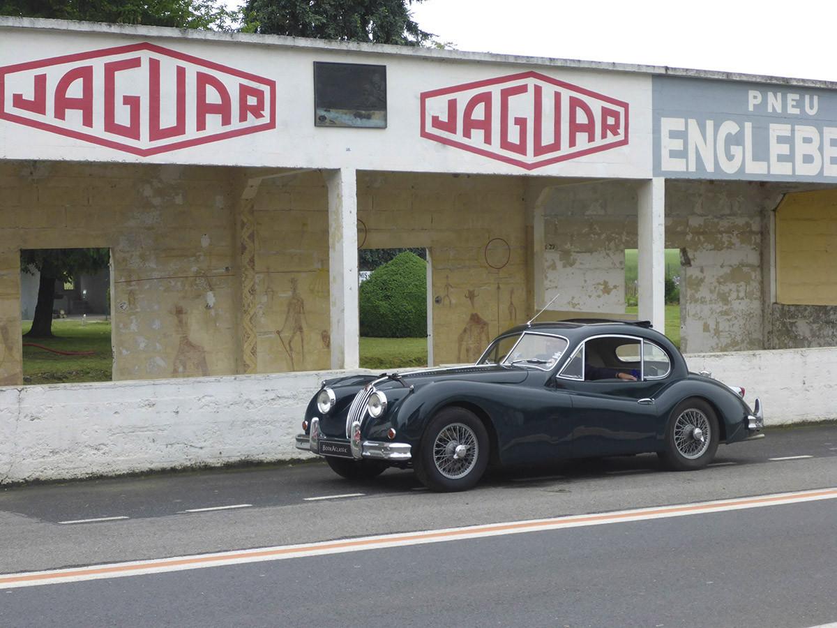 Jaguar  XK 140 Hire Tavistock