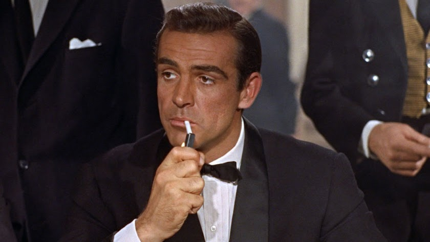 El actor en su papel de James Bond.