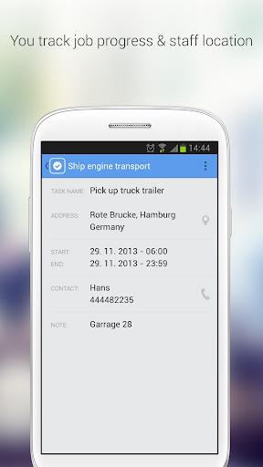 Sygic FleetWork & Job Dispatch screenshot 6