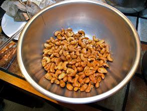 Photo: fresh-fried cashews