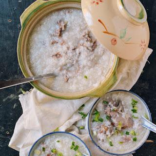 Mom'S Pork Bone Congee Recipe