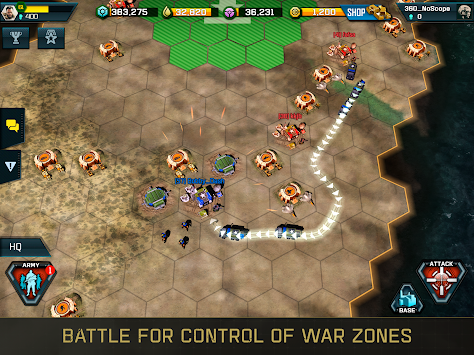 War Commander: Rogue Assault APK screenshot thumbnail 2