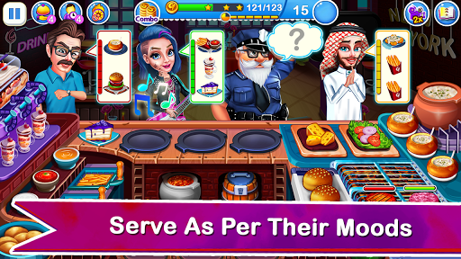 Cooking Express 2:  Chef Madness Fever Games Craze modavailable screenshots 7