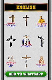 WAStickerApps - Jesus Stickers Screenshot