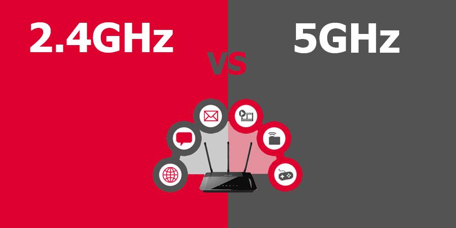 Differenza Wifi 2,4 GHz e 5 GHz Quale usare? Qual'è il migliore?