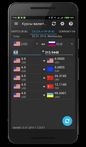 Currency rates of CB RF (Mini) screenshot 3