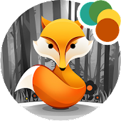 Fox in the Woods Xperia Theme