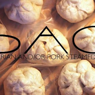 Vegetarian and/or Pork Bao