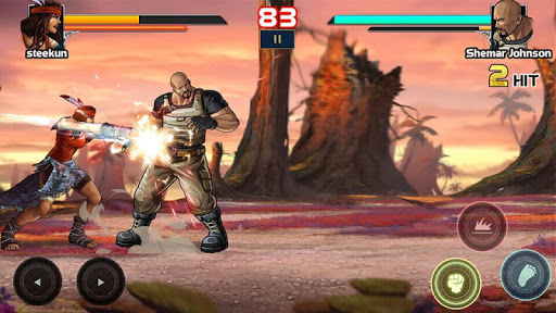 Mortal battle: Street fighter - fighting games  androidappsheaven.com 2