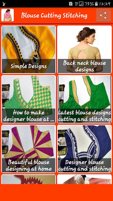 Blouse Design Cutting Silai