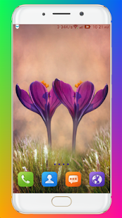 Download Purple Flower Wallpaper For PC Windows and Mac apk screenshot 2