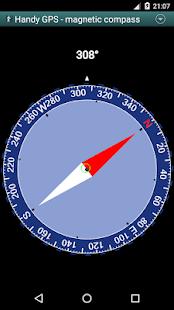 Handy GPS (free) - náhled