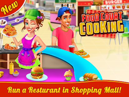 Food Court Cooking - Fast Food Mall Fever - náhled