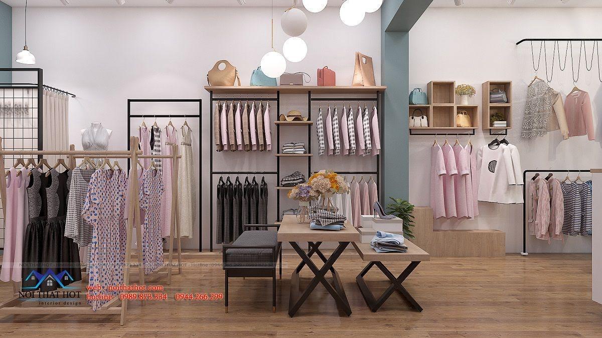 thiết kế shop thời trang nữ 2ce 8