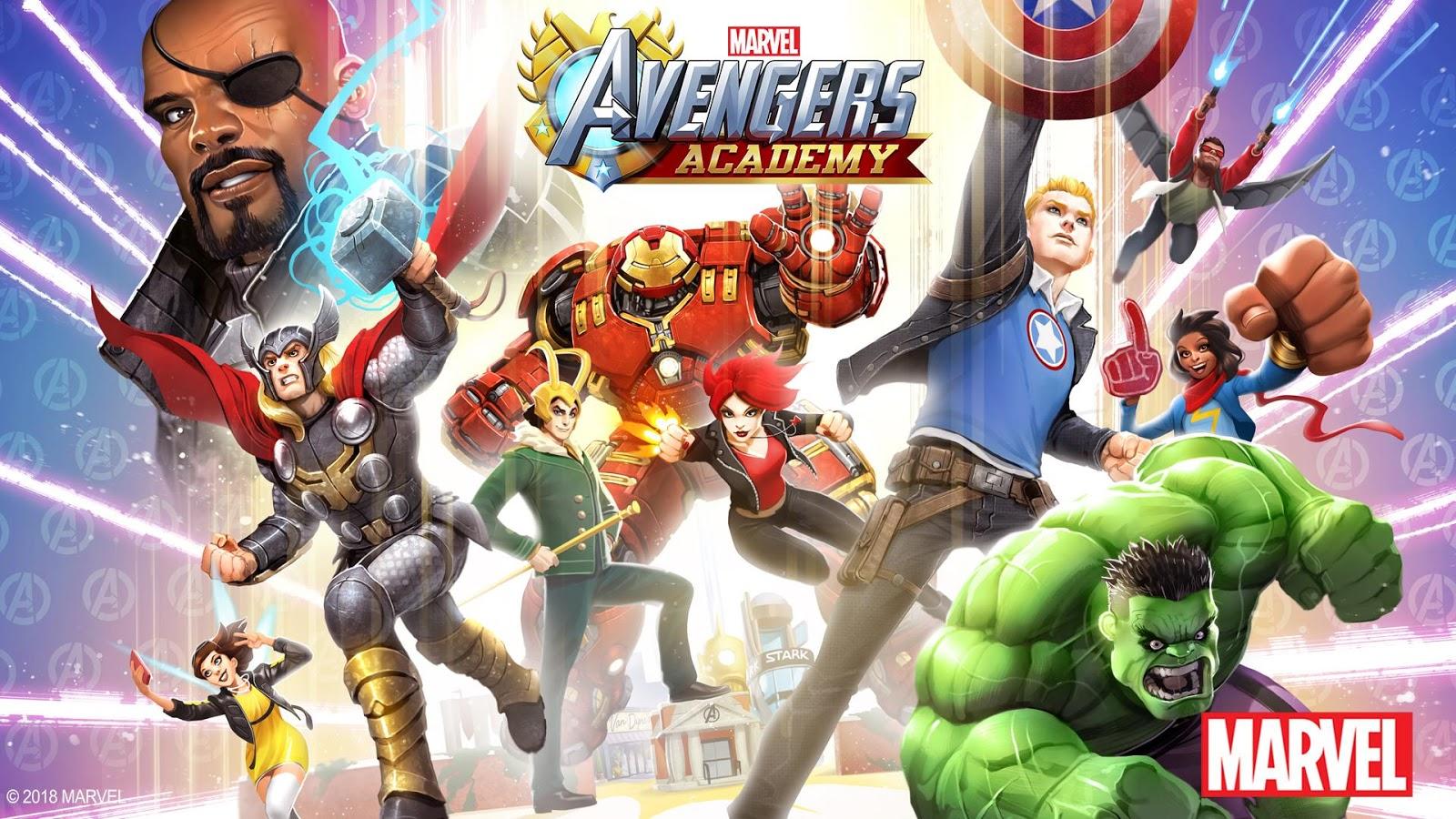 MARVEL Avengers Academy v 2.1.2 MOD Free Store