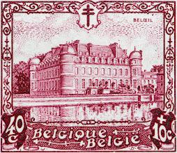 """Photo: """"Les châteaux"""" (1-12-1930). Beloeil."""