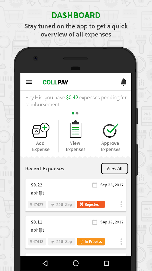 CollPay- screenshot