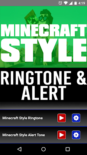 Ringtone Of Minecraft Style