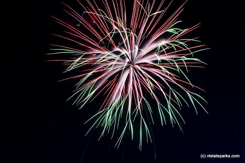 Photo: Fireworks at Knight Point State Park by Raven Schwan-Noble