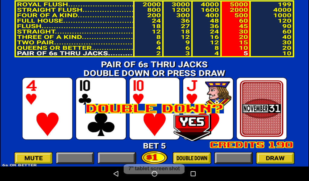 Double Down Stud Poker - Android Apps on Google Play