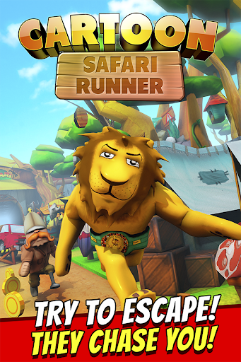 Cartoon Safari Runner